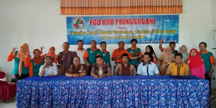 Executive Coach, Pringgodani Network Perkuat Pemekaran Koperasi
